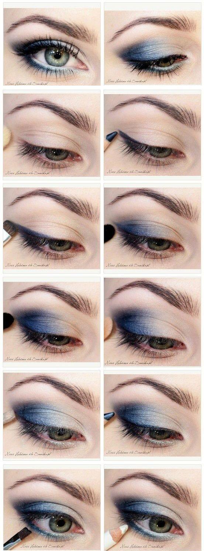макіяж покрокове фото