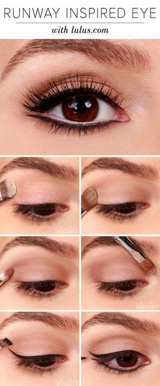 покрокове фото макіяжу очей