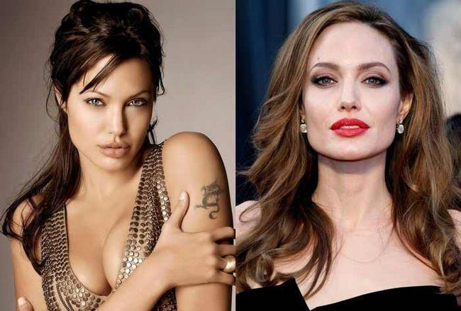 Модель Angelina Jolie