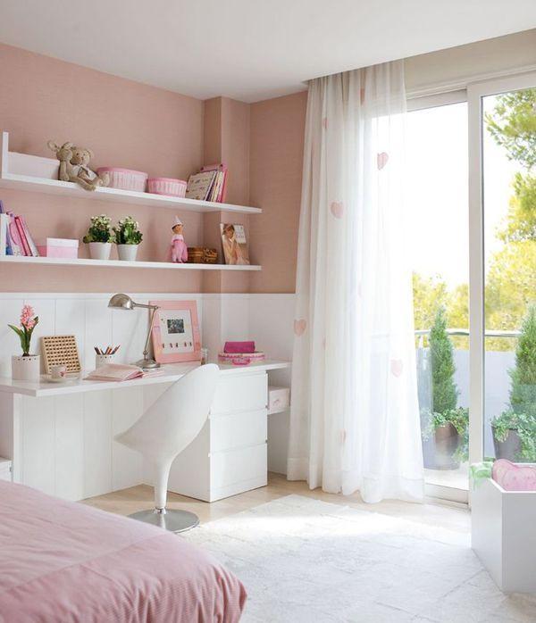 рожева кімната для дівчинки