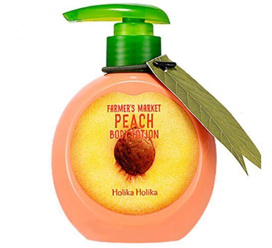 персиковий лосьйон для тіла