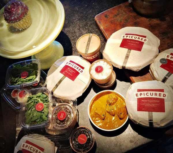 Закуплені продукти до дієти
