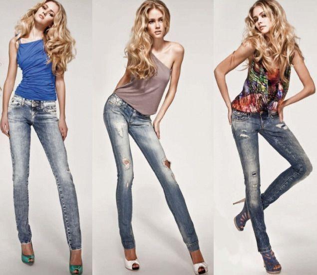C чим носити джинси скинни і як підібрати вузькі джинси по фігурі
