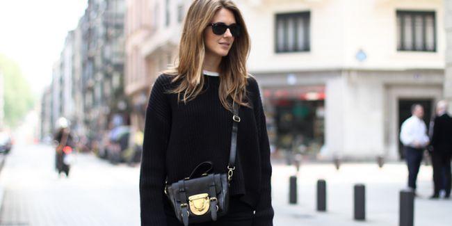 Чорний колір в одязі: що і як поєднувати (фото)