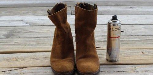 Чистимо замшеві чоботи в домашніх умовах поручнями засобами