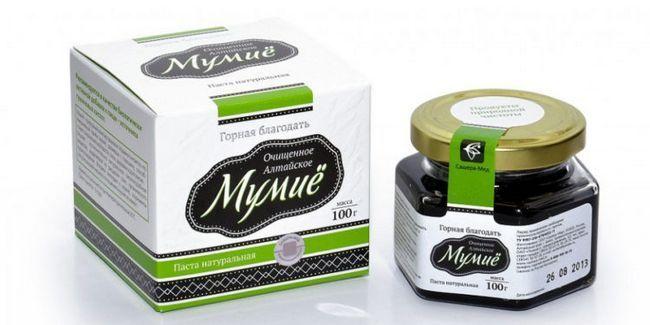Дари природи: муміє для волосся