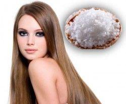 Дієвий спосіб уникнути випадання волосся - регулярне застосування соляних масок
