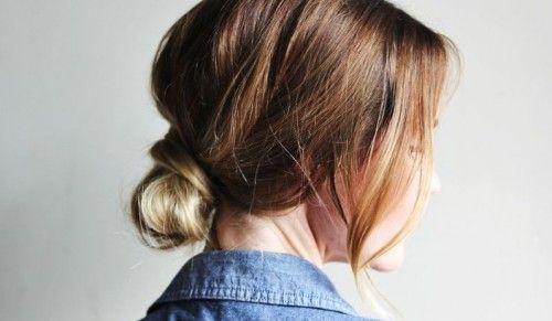Робимо красивий пучок з волосся будь-якої довжини