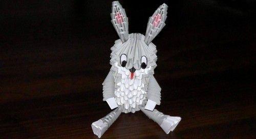 Робимо зайця з модулів - виготовлення деталей, складання