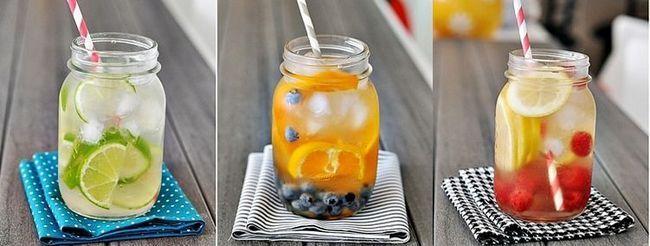 рецепти детокс води