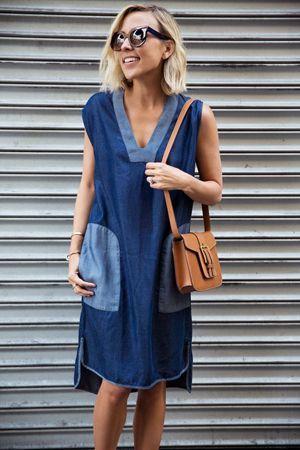 жіноче плаття під джинсу