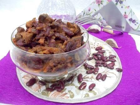 Квасоля з грибами для пісного столу і любителів бобових