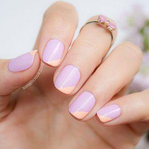 французький манікюр на короткі нігті