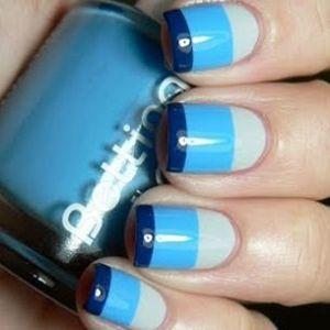 ідея манікюру на короткі нігті
