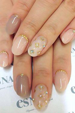 красивий декор нігтів