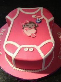 торт у вигляді повзунків