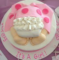торт на народження дитини