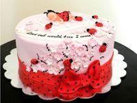 торт для новонародженого