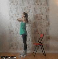 Ефективні вправи для стегон і сідниць. Комплекс 1