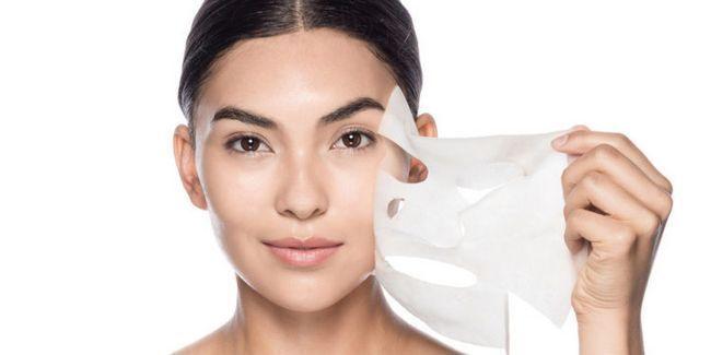 тканинна маска для обличчя
