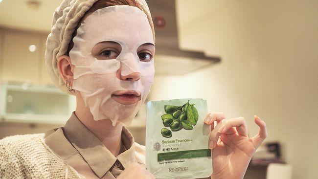 як використовувати тканинну маску
