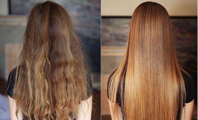 До і Після Fast Hair Straightener