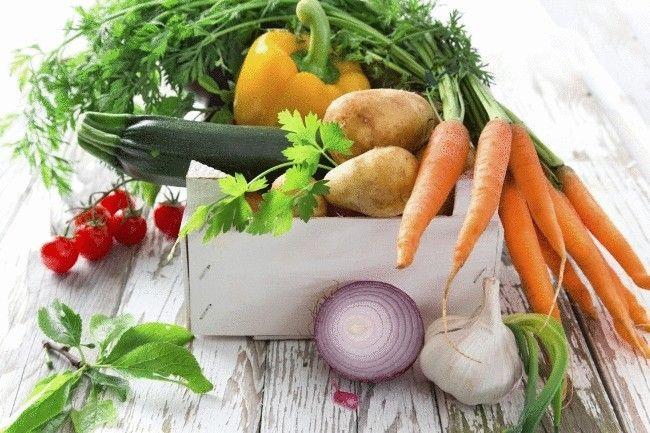 Як швидко скинути вагу на легкої овочевій дієті для схуднення