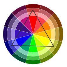 триадние кольору