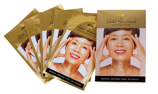 маска для обличчя проти зморшок на лобі