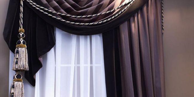 Як красиво повісити штори