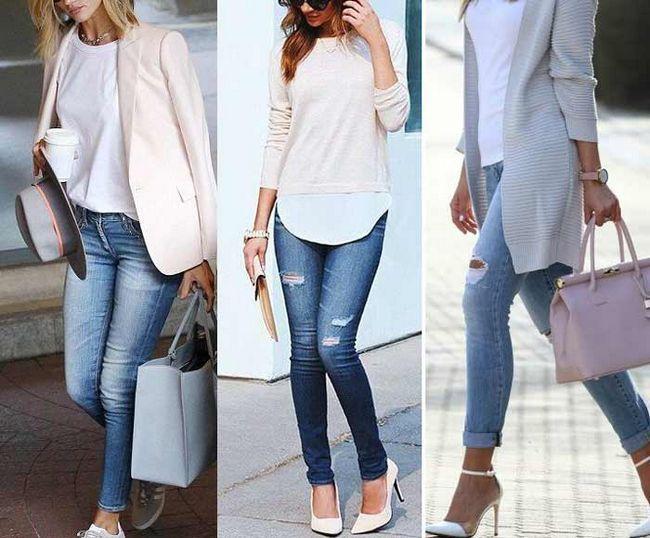 Як носити джинси скинни дівчатам з апетитними формами