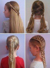 Як зробити цікаву зачіску для підлітка?