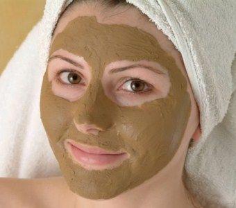 Очищаюча маска з бодяги