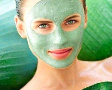 Очищаюча маска з бодяги для особи