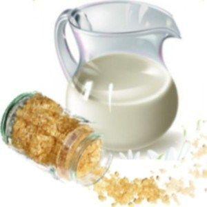 Молоко і желатин для маски для обличчя