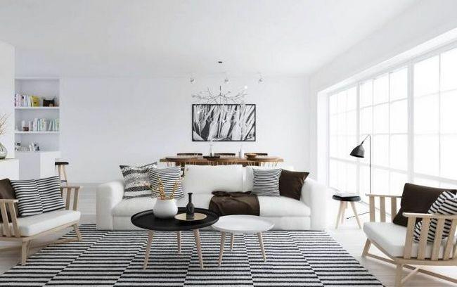 Як створити скандинавський стиль в інтер`єрі квартири - особливості обробки і декору