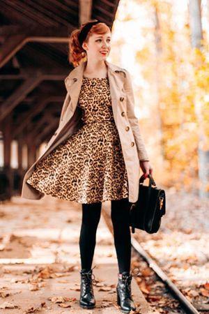 леопардовий принт в одязі