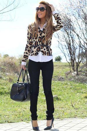 блейзер під леопард