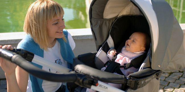 Як вибрати дитячу коляску правильно