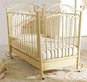 металева дитяче ліжко