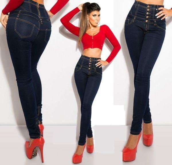 Як вибрати і з чим носити джинси із завищеною талією - поради і модні луки