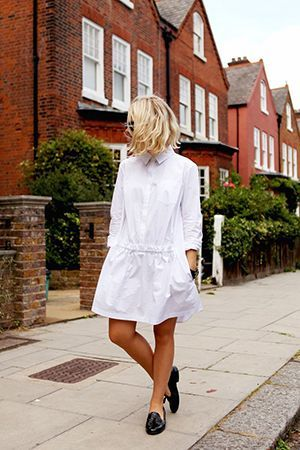 біле плаття