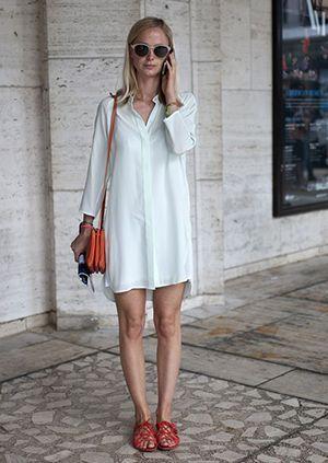 плаття оверсайз в піжамному стилі
