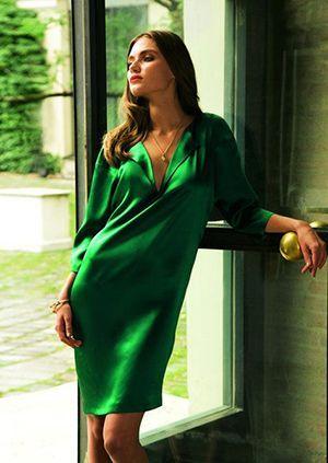 шовкове плаття oversize