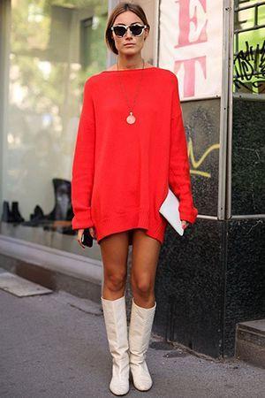 червоне об`ємне плаття