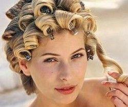 Які бувають кучері на коротке волосся і як їх зробити?