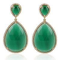зелені сережки