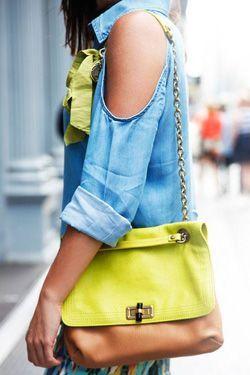 різнокольорові сумки