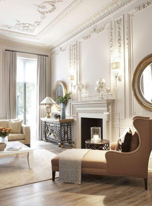 класична вітальня
