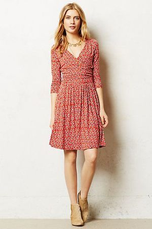 повсякденне бордове плаття